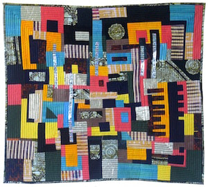 All That Jazz, art quilt by Dena Dale Crain